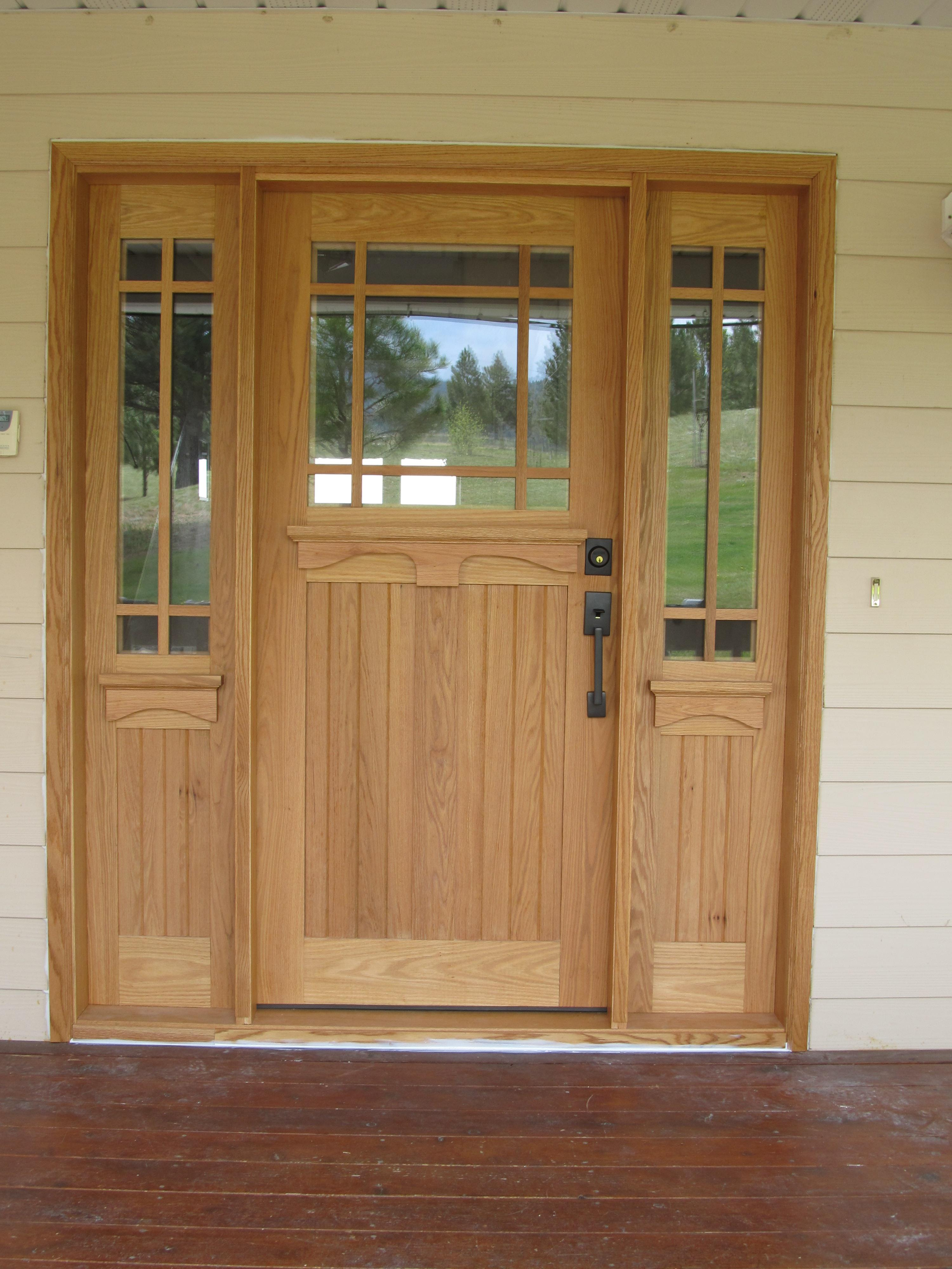 Interior Exterior Wood Doors